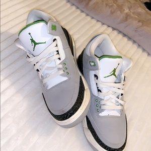 "Jordan Retro 3 ""chlorophyll"""